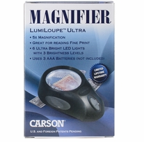 Lumiloupe Ultra LED Lighted Magnifier
