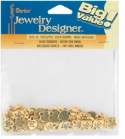 Made With Love Charms Gold