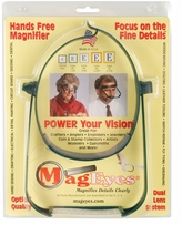MagEyes #2 Single Lo Magnifier Dark Green