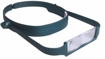 MagEyes #4 Single Lo Magnifier Dark Green
