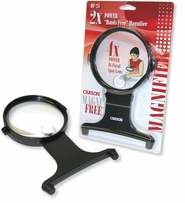MagniFree Hands-Free Magnifier With Neck Cord