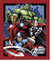 Marvel Comics Avengers Assemble Panel 43/44inX15yds D/R