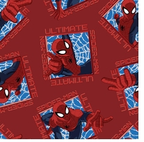 Marvel-Spiderman Ultimate Toss Patch 43/44in Wide 100% Cotton D/R