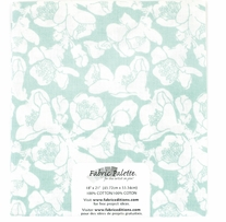 Melodic Floral 1 Single Precut Fabric 18inX21in