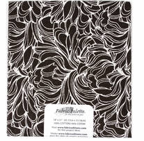 Melodic Floral 4 Single Precut Fabric 18inX21in