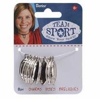 Metal Charms Football