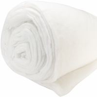 Microsafe Batting By The Roll Polyester Med To High Loft 12oz/yd - Click to enlarge