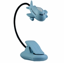 Mighty Bright LED Baby Bright Nursery Light Blue Airplane