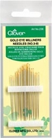 Milliner Needles - Quilting Needles - Click to enlarge