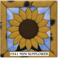 Mini Sunflower Quilt Magic Kit