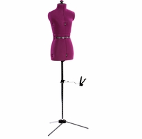 My Double Deluxe Dress Form Petite C:28-34in, W:22-29in, H:30-37in