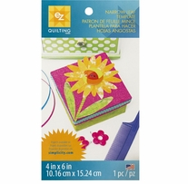 Narrow Leaf Template 4inx6in 1/Pkg