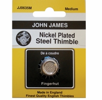Nickel Plated Steel Crimp Top Thimble