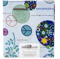 Novelty & Quilt Fabric Pre-Cut Blue #MD-G-PC-289