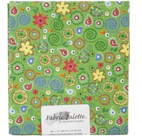 Novelty & Quilt Fabric Pre-Cut Green