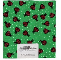 Novelty & Quilt Fabric Pre-Cut Novelty Ladybugs