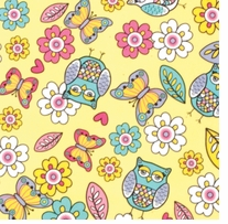 Novelty & Quilt Fabric Pre-Cut Novelty Owls
