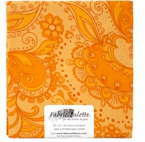 Novelty & Quilt Fabric Pre-Cut Orange