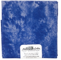 Novelty & Quilt Fabric Pre-Cut Royal Blue Textured