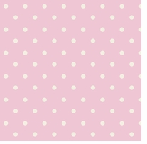 Nursery Rhyme Toile Dot Pink