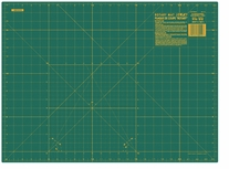 Olfa Gridded Cutting Mat 18inX24in Green