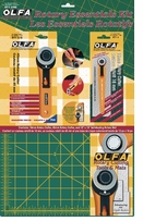 Olfa Rotary Essentials Kit 12inx18in