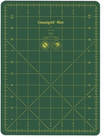 Omnigrid Cutting Mat With Grid 8-3/4inX11-3/4in