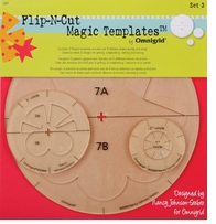 Omnigrid Flip-N-Cut Magic Templates Set 3