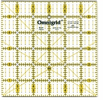 Omnigrid Rulers Quilter's Ruler 6inX6in Angles