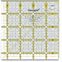 Omnigrid Rulers Quilter's Square 4-1/2in X 4-1/2in