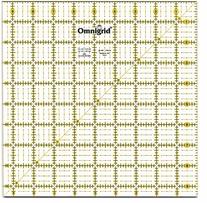 Omnigrid Rulers Quilter's Square 9-1/2inX9-1/2in