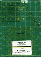 Omnigrid Set Med For Small Projects Rotary Cutting Mats & Rulers