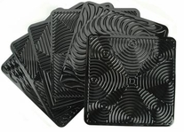 Op Art Rubbing Plates Set Of Six