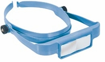 Optisight Magnifying Visor W/3 Lens Plates Assorted colors