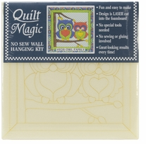 Owl Family Quilt Magic Kit 12in x 12in