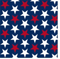 Patriotic Prints Little Stars 43/44in Wide 100% Cotton D/R