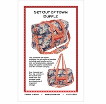 Patterns By Annie Get Out Of Town Duffle
