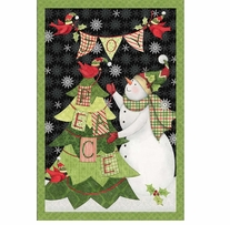 Peace and Joy Wall Hanging 43/44in Wide 100% Cotton D/R