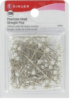 Pearlized Head Straight Pins