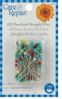 Pearlized Straight Pins #24 120/Pkg