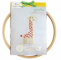 Penguin & Fish Embroidery Kits Giraffe