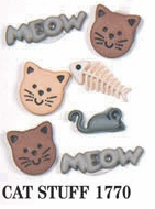 Pets Dress It Up Embellishments Cat Stuff