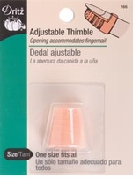 Plastic Thimble Adjustable #166