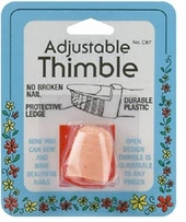 Plastic Thimble Adjustable