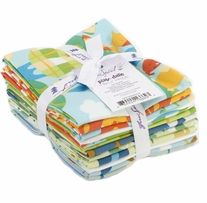 Play Date (Boy) David Walker Fat Quarters 12pcs