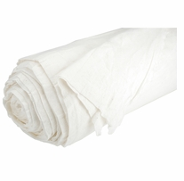 Poly, Cotton Blend Batting with Scrim Liner Natural