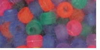 Pony Beads Frosted Multi