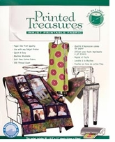 Printed Treasures Inkjet Fabric Sheets Sew-On White Bulk