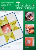 Printed Treasures Inkjet Printable Fabric Sew-On