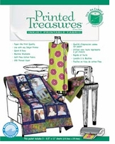 Printed Treasures Printer Fabric Sheets Sew-In-Packaged White